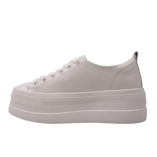 Туфлі спорт жіночі Berkonty натуральна шкіра, колір бежевий