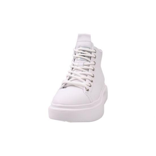Туфлі жіночі Farinni натуральна шкіра, колір білий