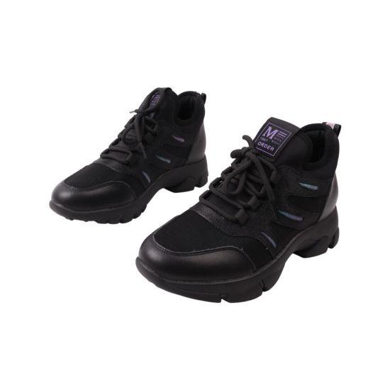 Кросівки жіночі Farinni чорні натуральна шкіра