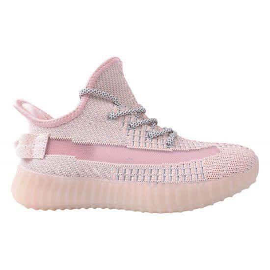 Кросівки жіночі Vikonty Текстиль, колір рожевий 137-20LK