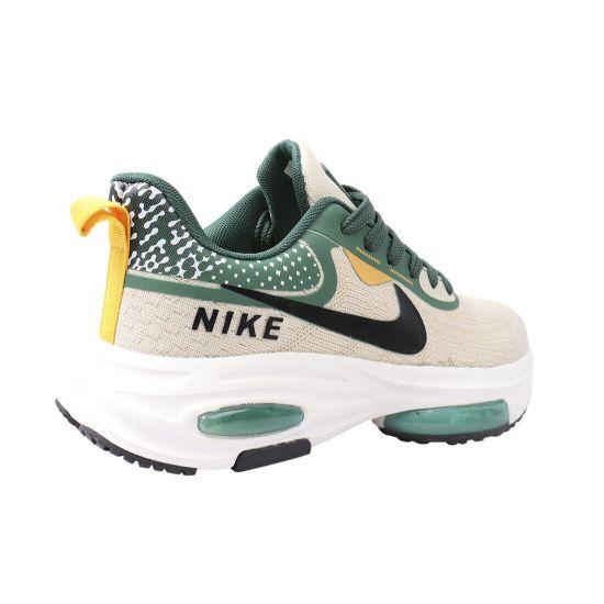 Кросівки чоловічі з текстилю, на низькому ходу, на шнурівці, колір бежевий, Nike