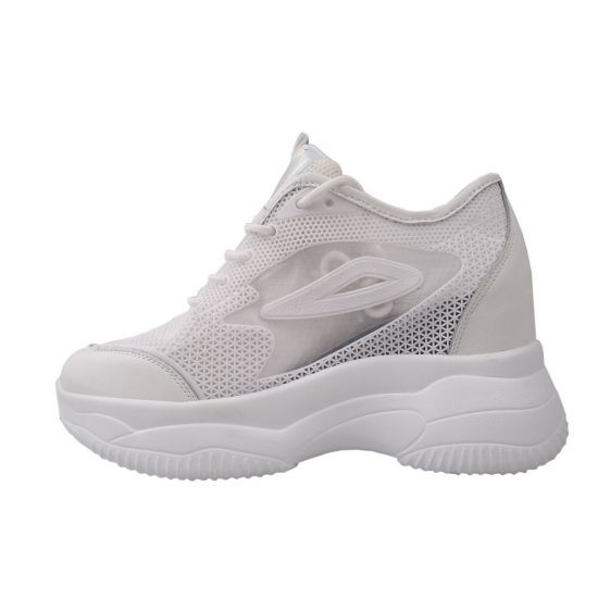 Кросівки жіночі Vikonty еко шкіра, колір білий