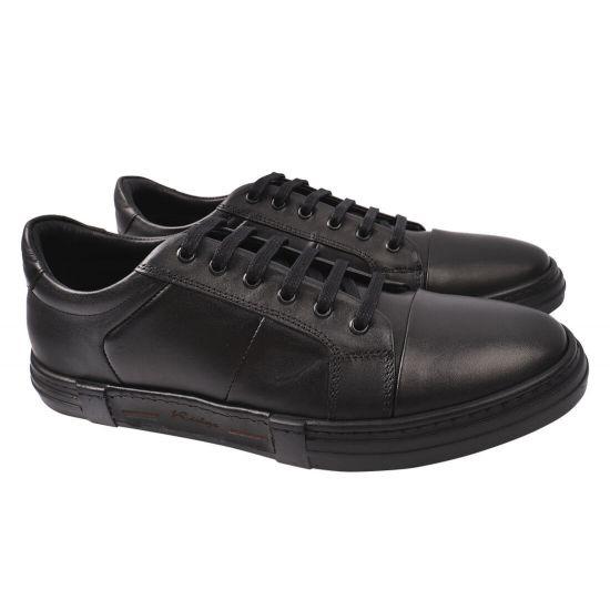 Туфлі комфорт чоловічі Ridge натуральна шкіра, колір чорний