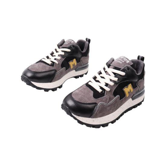 Кросівки жіночі Li Fexpert сірі натуральна замша