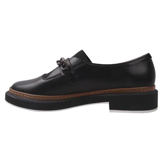 Туфлі жіночі Beratroni натуральна шкіра, колір чорний
