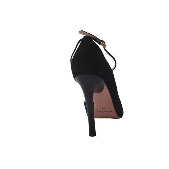 Туфлі жіночі Anemone чорні натуральна замша