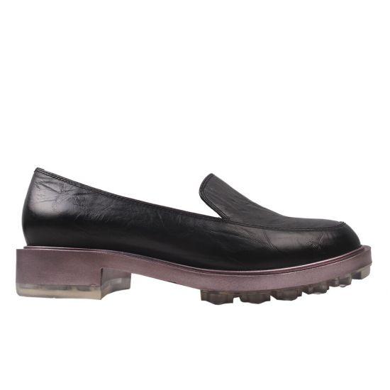 Туфлі жіночі Polann натуральна шкіра, колір чорний