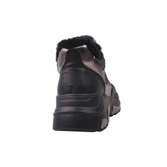 Кросівки жіночі Li Fexpert натуральна шкіра, колір платина