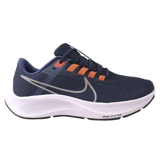 Кросівки чоловічі з текстилю, на низькому ходу, на шнурівці, колір синій, Nike