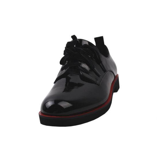 Туфлі жіночі Brocoly Лакова натуральна шкіра, колір чорний
