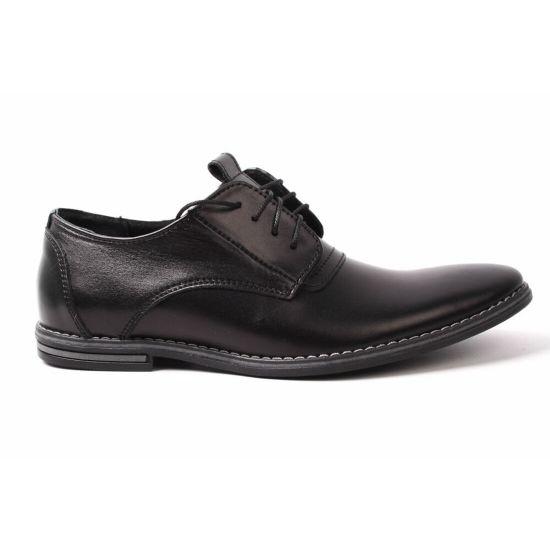 Туфлі комфорт Van Kristi натуральна шкіра, колір чорний