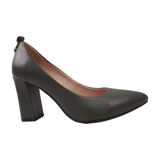 Туфлі жіночі Angels натуральна шкіра, колір чорний