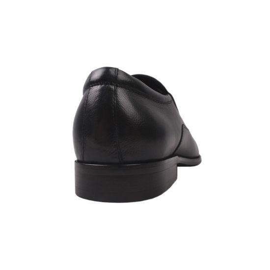 Туфлі комфорт чоловічі Cossottinni натуральна шкіра, колір чорний