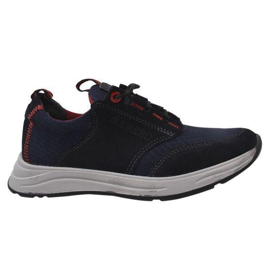 Туфлі спорт чоловічі Maxus Shoes Текстиль, колір синій