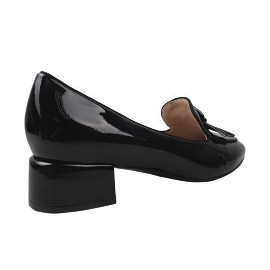 Туфлі жіночі Anemone Лакова натуральна шкіра, колір чорний