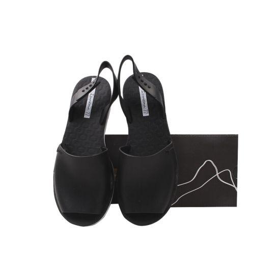 Босоніжки на низькому ходу жіночі Ipanema Гумові, колір чорний 162-20LBC