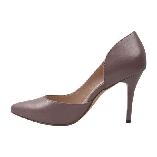 Туфлі жіночі Geronea натуральна шкіра, колір капучіно
