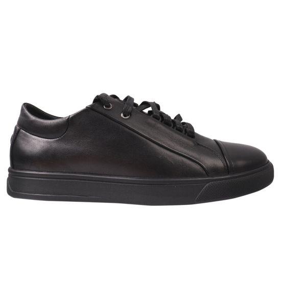 Туфлі комфорт чоловічі Davis натуральна шкіра, колір чорний