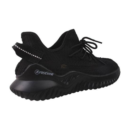Кросівки чоловічі Res Time Текстиль, колір чорний