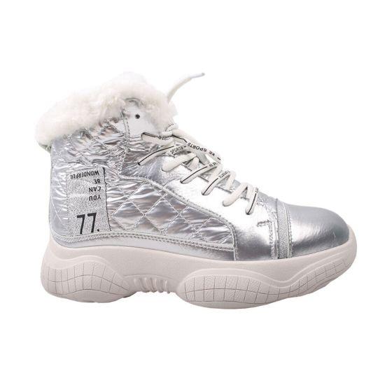 Кросівки жіночі Vikonty натуральна шкіра, колір срібло 62-9ZHC