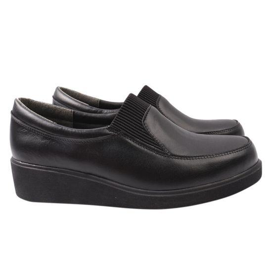 Туфлі комфорт жіночі Savio натуральна шкіра, колір чорний