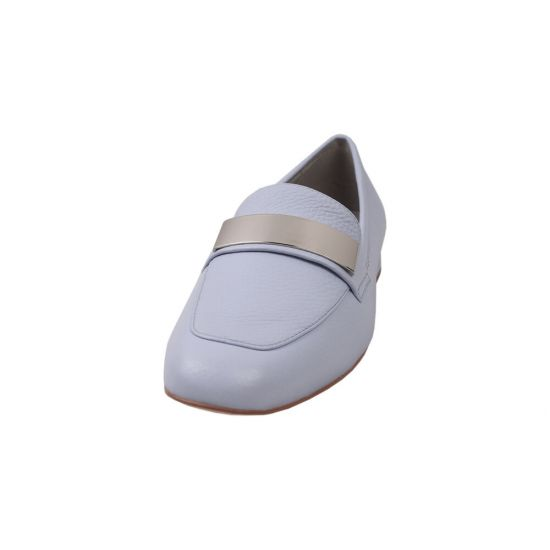 Туфлі жіночі Anemone натуральна шкіра, колір блакитний