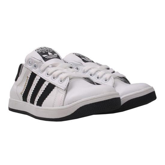 Туфлі спорт чоловічі натуральна шкіра, колір білий