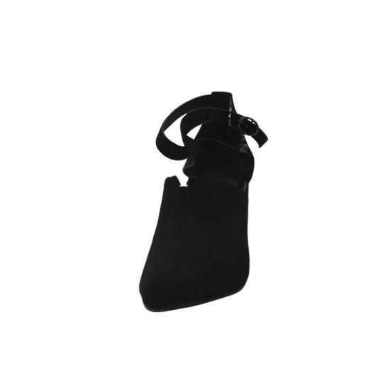 Туфлі жіночі Liici еко замш, колір чорний