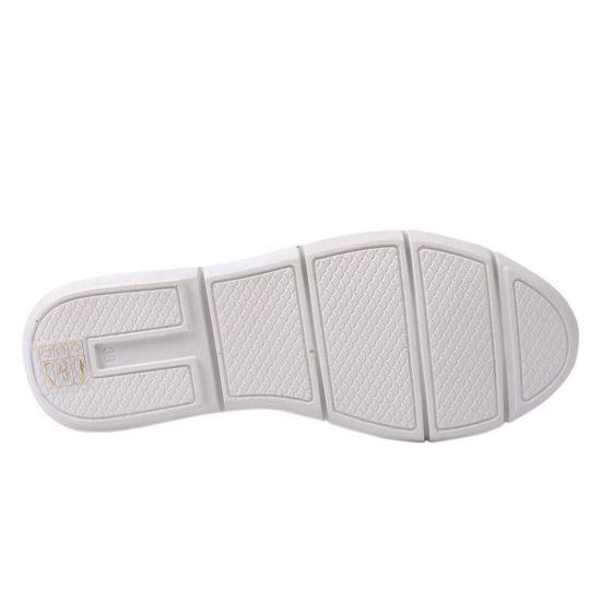 Кеди жіночі з натуральної шкіри, на низькому ходу, на шнурівці, колір білий, Туреччина Trio Trend