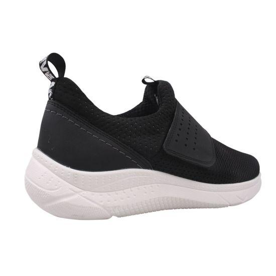Туфлі спорт чоловічі Текстиль, колір чорний