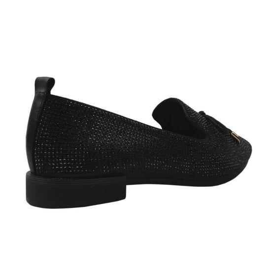 Туфлі жіночі Berkonty натуральна шкіра, колір чорний
