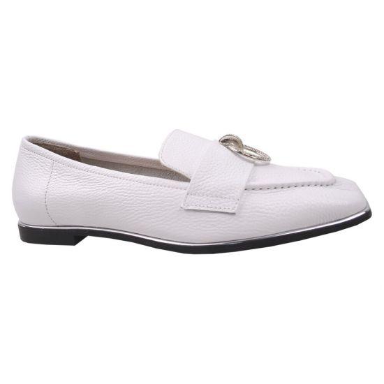 Туфлі жіночі DaCoTa натуральна шкіра, колір білий