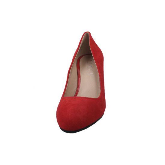 Туфлі жіночі Liici еко замш, колір червоний