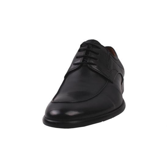 Туфлі комфорт чоловічі Emillio Landini натуральна шкіра, колір чорний