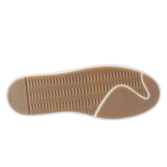 Кеди чоловічі з натуральної шкіри, на низькому ходу, на шнурівці, колір білий, Україна Zumer 75-21DTC