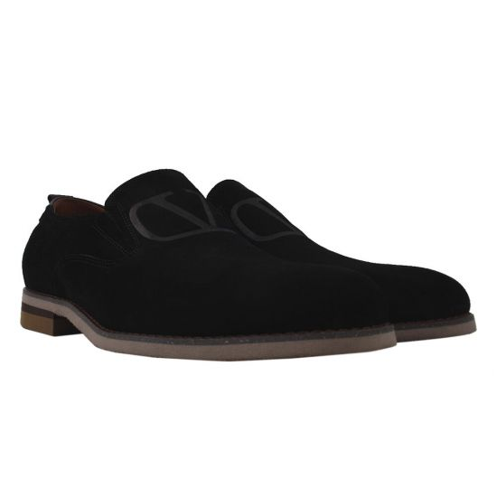 Туфлі чоловічі Antoni Bianchi Натуральна замша, колір чорний