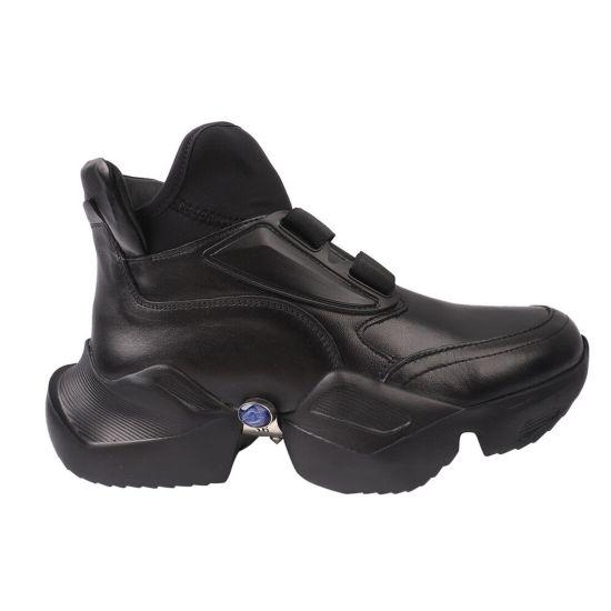 Кросівки жіночі Molly Bessa натуральна шкіра, колір чорний