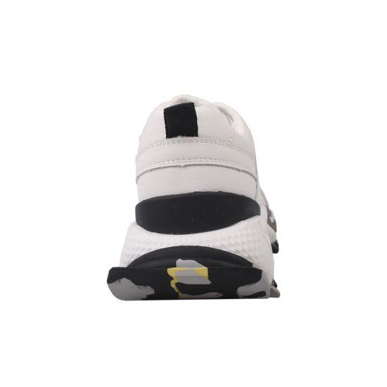Кросівки жіночі з натуральної шкіри, на платформі, білі, Li Fexpert