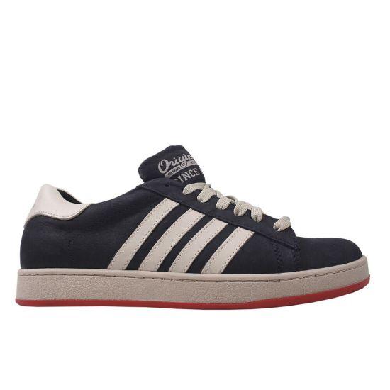 Туфлі спорт чоловічі Нубук, колір синій
