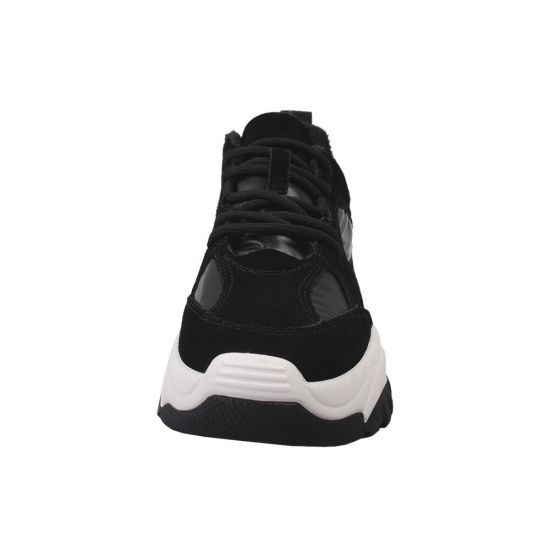 Кросівки жіночі Vikonty Натуральна замша, колір чорний
