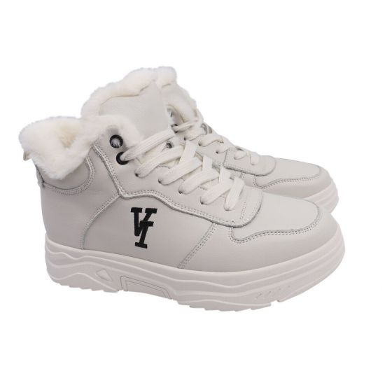 Кросівки жіночі Vikonty натуральна шкіра, колір білий