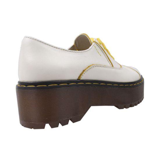 Туфлі жіночі Maxus Shoes натуральна шкіра, колір білий