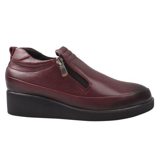 Туфлі комфорт жіночі Phany натуральна шкіра, колір бордо
