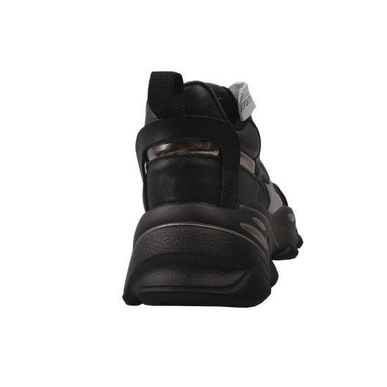 Кросівки жіночі Vensi натуральна шкіра, колір чорний