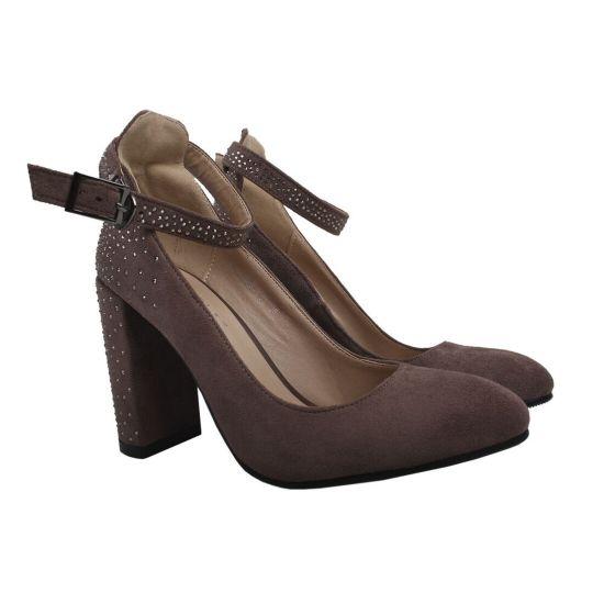 Туфлі жіночі Liici еко замш, колір візон