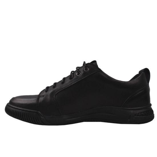 Туфлі комфорт чоловічі Detta натуральна шкіра, колір чорний