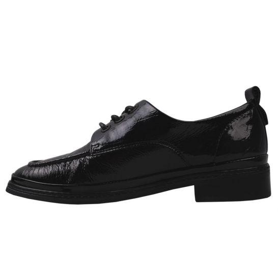 Туфлі жіночі Лакова натуральна шкіра, колір чорний