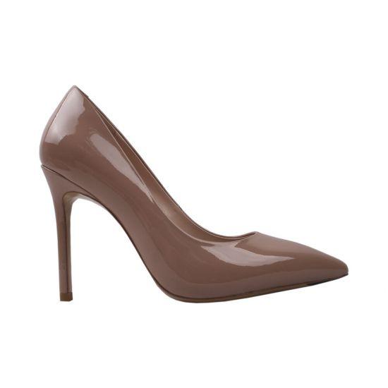 Туфлі жіночі Лакова натуральна шкіра, колір бежевий