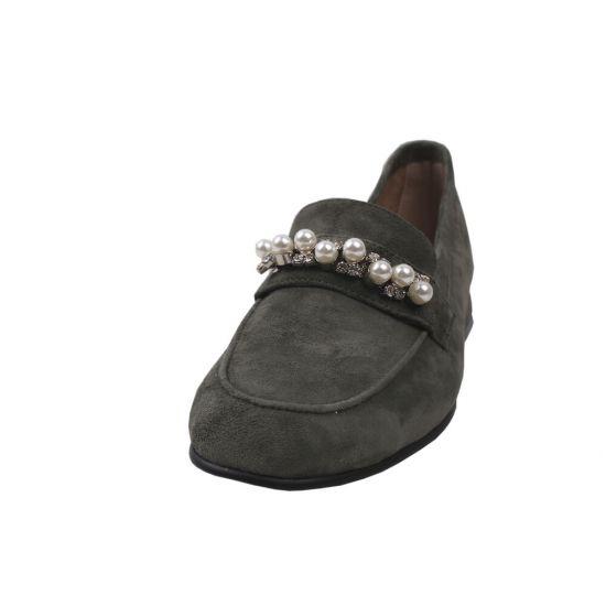 Туфлі комфорт жіночі Lady Marcia Натуральна замша, колір зелений