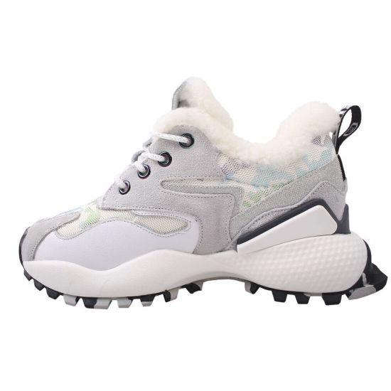 Кросівки жіночі Li Fexpert Натуральна замша, колір білий 509-9ZK